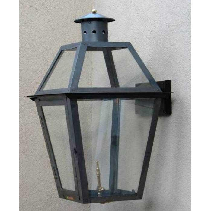 Regency GL44 Mansion Natural Gas Light With Open Flame Burner And Electronic Ignition On Wall Mount