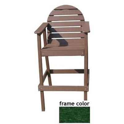 Eagle One Recycled Plastic Captains Chair - Green