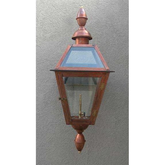 Regency GL22CTCB Chalmette III Natural Gas Light With Open Flame Burner And Electronic Ignition On Wall Mount