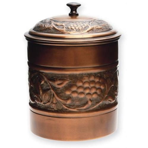 Old Dutch Antique Copper Cookie Tin