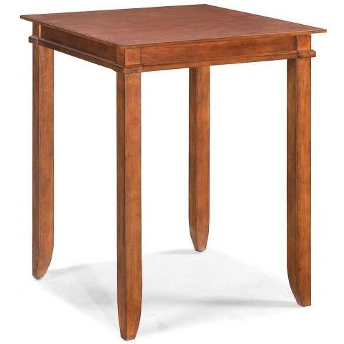 Home Styles Jamaican Bay Square Bistro Table - Soft Mahogany - 5535-35