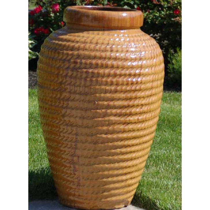 Alfresco Home Lino Jar - Curry