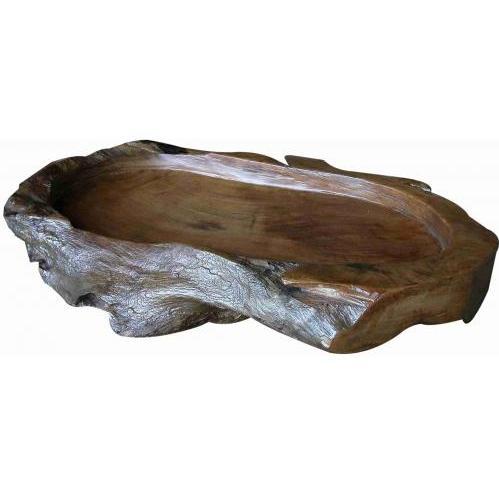 Groovy Stuff Teak Wood Serving Tray - WA-064