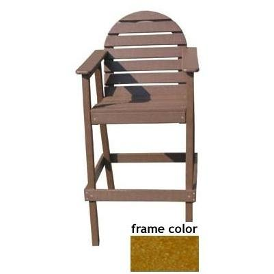 Eagle One Recycled Plastic Captains Chair - Cedar
