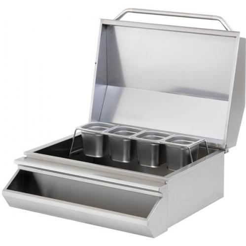 Cal Flame Stainless Steel Drop-in Ice Bin Chest