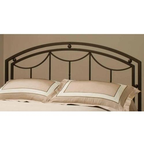 Hillsdale Arlington Bronze Headboard With Frame - Full/Queen - 1501HFQR