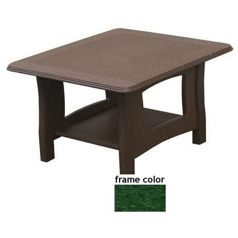 Eagle One Recycled Plastic Newport End Table - Green