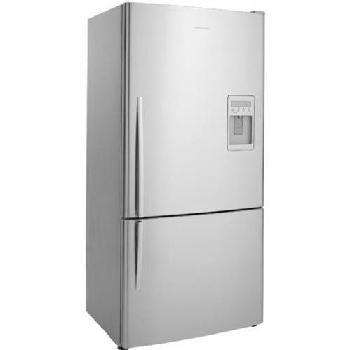 Fisher Paykel E522BRXU 17.6 Cu. Ft. Capacity ActiveSmart Right Hinge Refrigerator With Ice And Water Dispenser - Stainless Steel