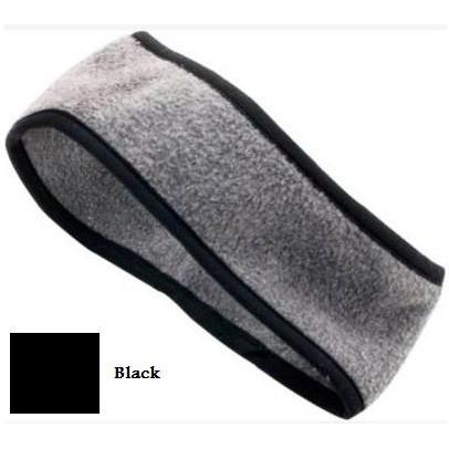 Augusta Chill Fleece Sport Headband Black