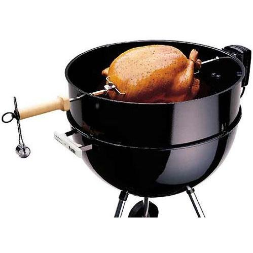 Weber Kettle Rotisserie For 22.5 Inch Charcoal Kettles