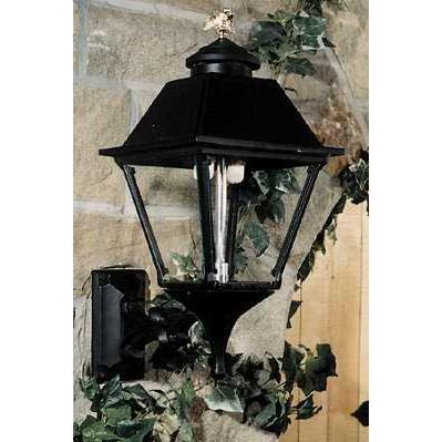 Gaslite America GL300 Cast Aluminum Manual Ignition Natural Gas Light With Dual Mantle Burner And Standard Wall Mount