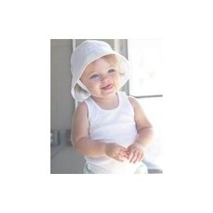Bella Baby Infant 2x1 Rib Tank Top 3-6 Month - White