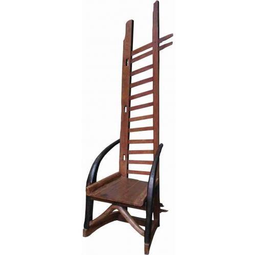 Groovy Stuff Teak Wood Sundance Ladder Chair - TF-552