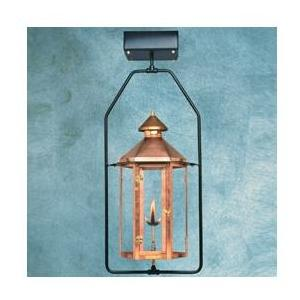 Legendary Lighting Neptune 1 Copper Propane Gas Light With Yoke Bracket And Electronic Ignition