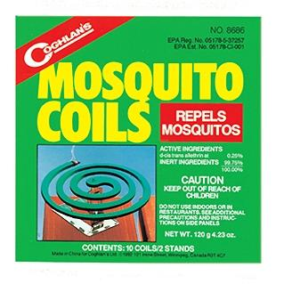 Coghlans Mosquito Coils -- Package Of 10