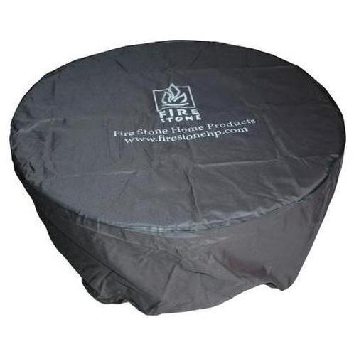 Outdoor GreatRoom Company Black Vinyl Cover For 42 Inch Chat Fire Pit Tables
