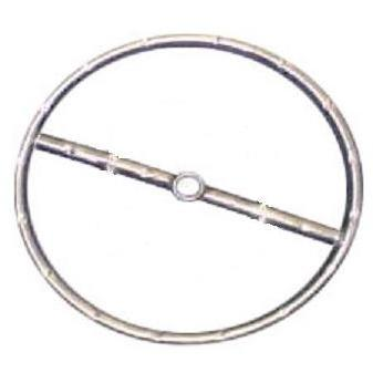 12 Inch Natural Gas Stainless Steel Round Single Fire Pit Ring