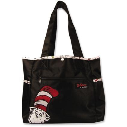 Trend Lab Tulip Tote Diaper Bag - Dr Seuss Cat In The Hat