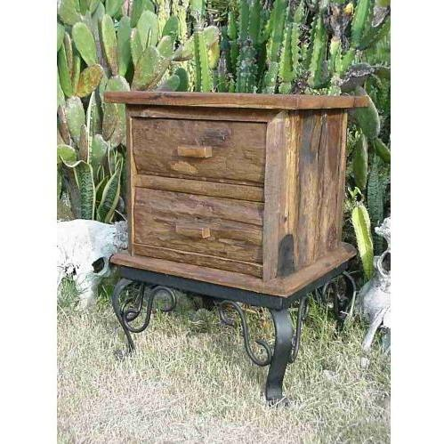 Groovy Stuff Teak Wood Joshua Tree End Table - TF-415