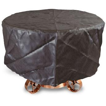 California Outdoor Concepts Black Insulated Vinyl Fire Pit Table Cover