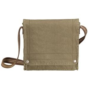 District Threads Canvas Field Bag - Olive