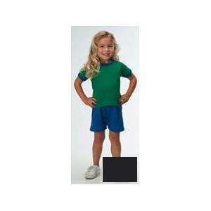 Rabbit Skins Toddler Jersey Shorts 5T - Black