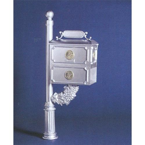 Cast Aluminum Mailbox - Vineyard Design