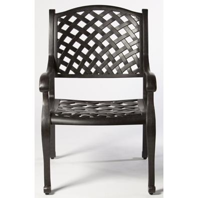 Alfresco Home Long Cove Dining Arm Chair - Antique Fern