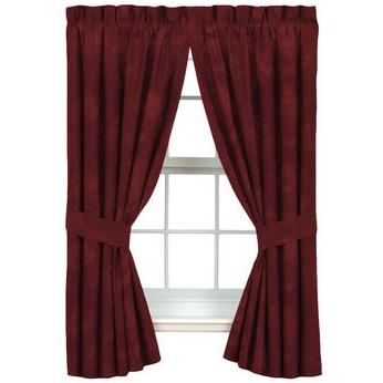 Karin Maki Window Curtain - Caribbean Coolers Pomegranate