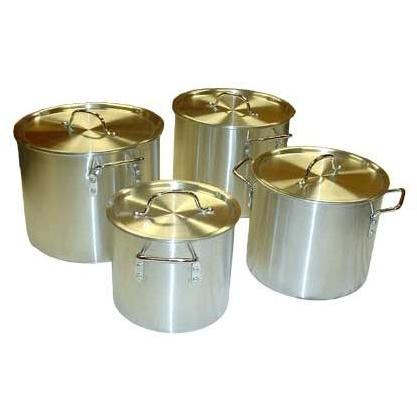 Cajun Cookware Sets 4 Piece Heavy Duty Aluminum Stock Pot Set
