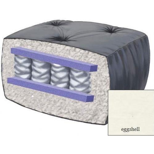 10 Inch Blazing Needles Perfect Pocket Coil Futon Mattress - Eggshell - DS-9662 - Eggshell