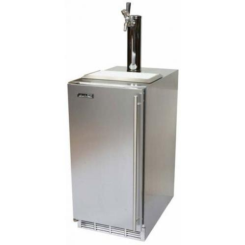 Perlick HP15TS-1R 3.2 Cu. Ft. Capacity Right-Hinge Kegerator - Stainless Steel