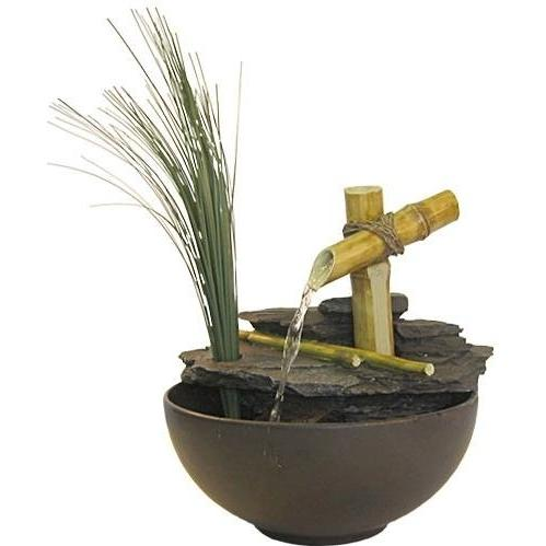 Alpine Calming Bamboo Fountain