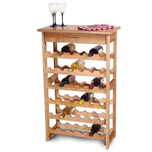 Wine Rack With 36 Bottle Storage