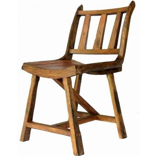 Groovy Stuff Country Teak Wood Chair - TF-039