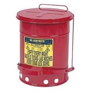 Just Rite 10 Gallon Oily Waste Can