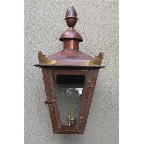 Regency GL22LT Augustus II Natural Gas Light With Open Flame Burner And Electronic Ignition On Wall Mount