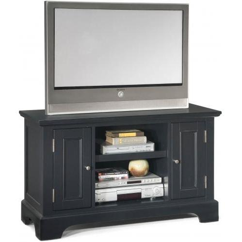 Home Styles Bedford TV Stand - Ebony - 5531-09