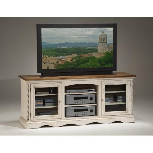 Hillsdale Wilshire Entertainment Console - Antique White - 4508-880