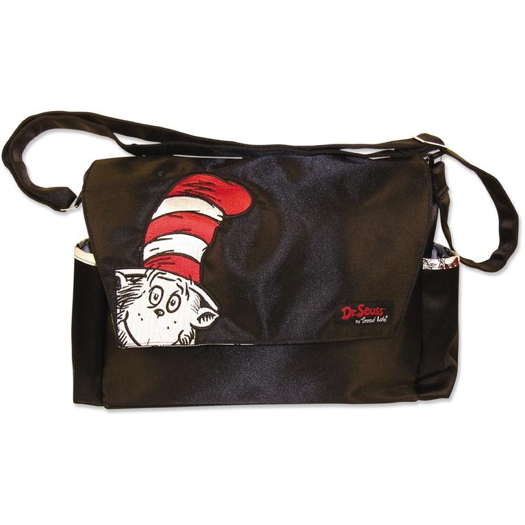 Trend Lab Messenger Diaper Bag - Dr Seuss Cat In The Hat
