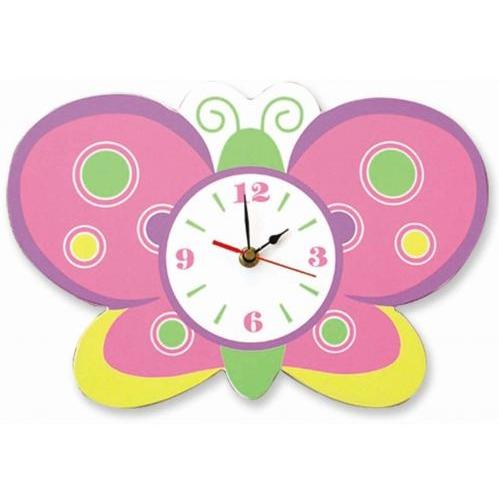 Trend Lab Wall Clock - Butterfly