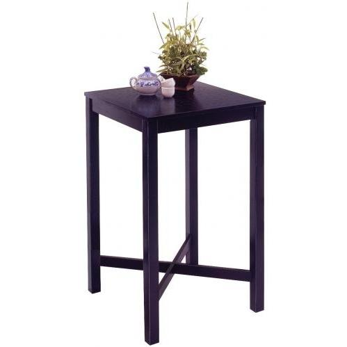Home Styles Bar Table With Veneer Top - Black - 5982-35