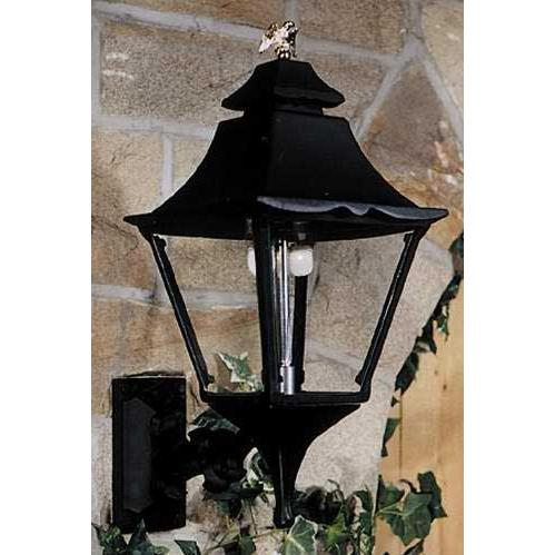 Gaslite America GL1900 Cast Aluminum Manual Ignition Natural Gas Light With Dual Mantle Burner And Standard Wall Mount