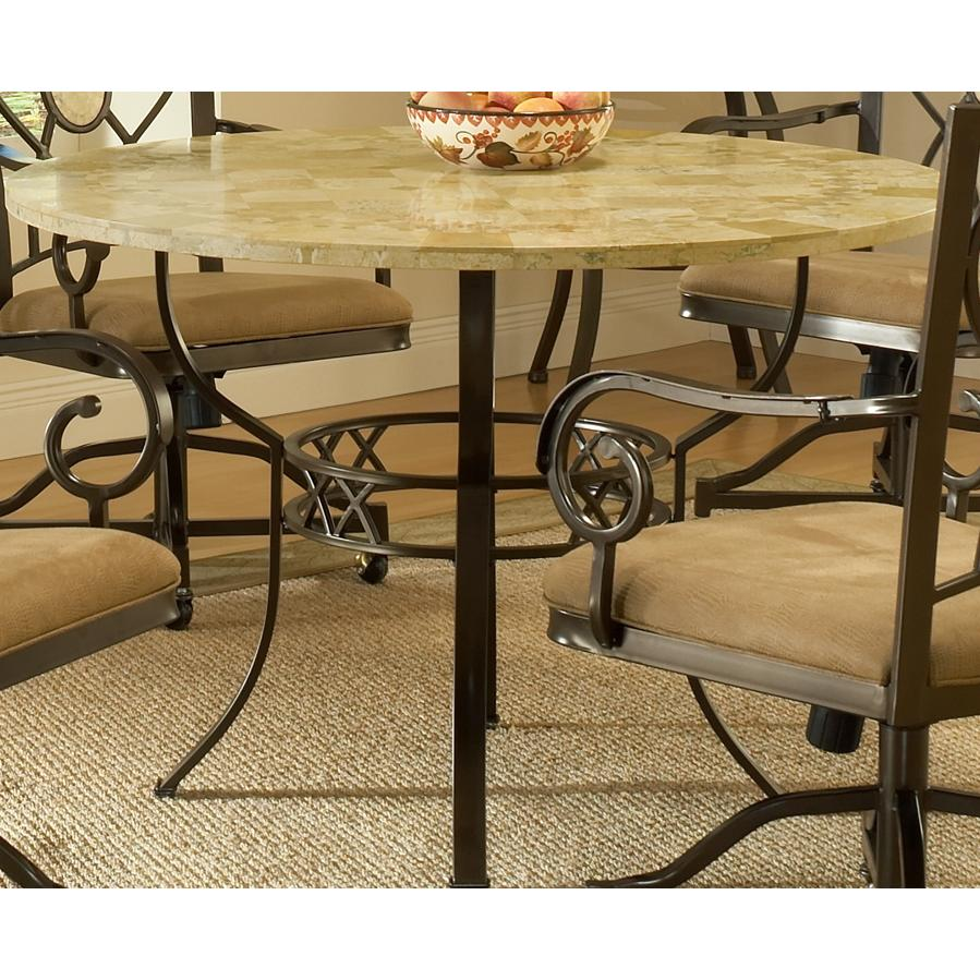 Hillsdale Brookside Round Dining Table - 4815DTRNB