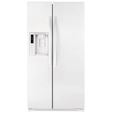 LG LSC27921SW 26.5 Cu. Ft. Side By Side Refrigerator / Freezer With Tall Water & Ice Dispenser - White