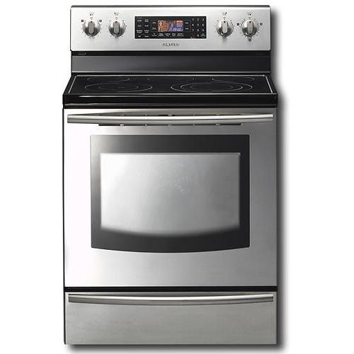 Samsung FTQ387LWGX 5.9 Cu Ft. Freestanding Electric Range W/ Warmer Drawer - Stainless Steel