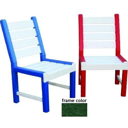 Eagle One Recycled Plastic Kids Chair - Green