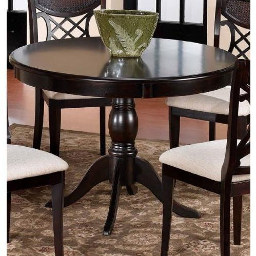 Hillsdale Glenmary/bayberry Round Pedestal Dining Table - Dark Cherry - 4783dtb