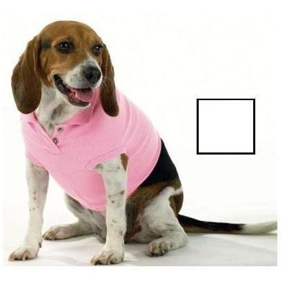 Doggie Skins Polo Shirt Large - White
