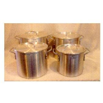 Cajun Cookware Sets 4 Piece Aluminum Stock Pot Set